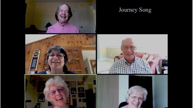 The comforting power of music is central to the mission of the acapella singing group Journey Song, which brings song to people as they approach the end of life.