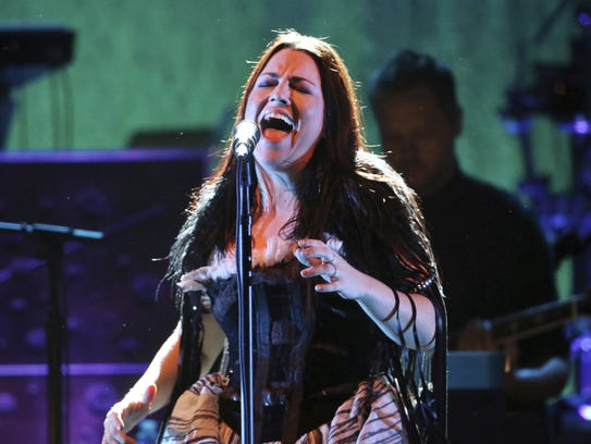 Amy Lee will perform with Evanescence Dec. 2 at the