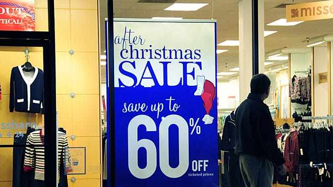Some retailers will open their doors on Dec. 26, 2013, at 5 a.m. and offer big after-Christmas sales.
