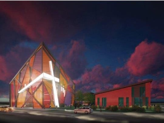 Design rendering of The Dream Campus concept for New