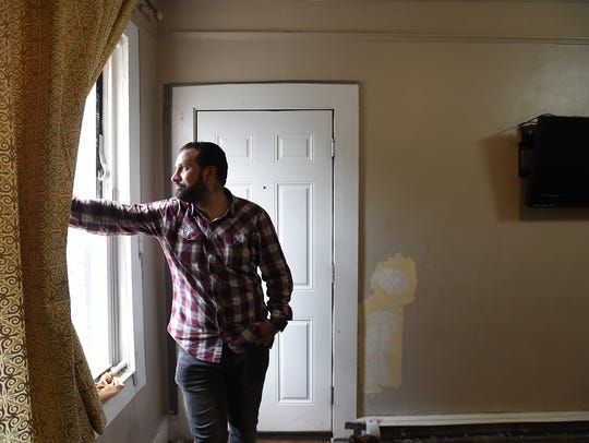 Safour, 37, and his family fled Syria and, after four