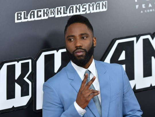 "John David Washington attends the ""BlacKkKlansman"""