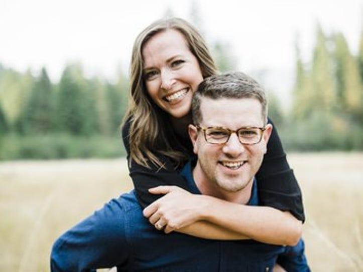 Connor Bulger and Rachel Rossi