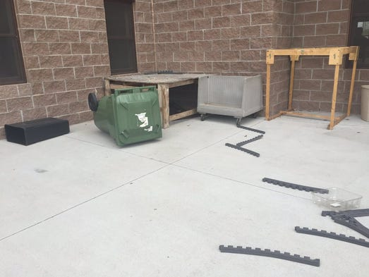 munity rallies behind Islamic Center after vandalism