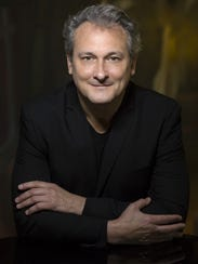 Pianist Christopher O'Riley, who will co-host an evening