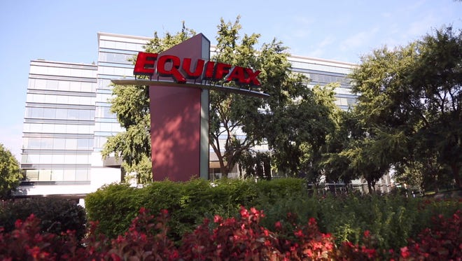 This is the Equifax building in Atlanta at 1550 Peachtree Street NE.