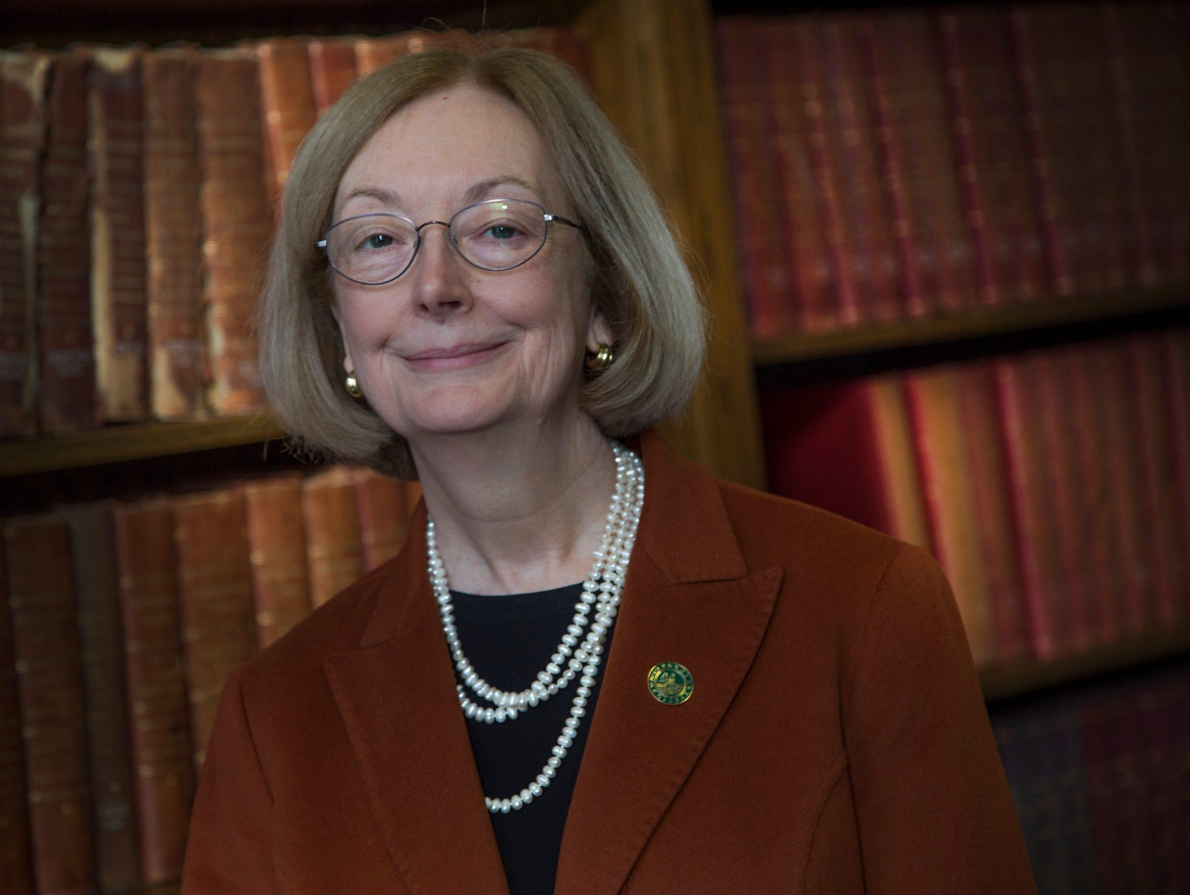 Marygrove College president Elizabeth Burns talks about