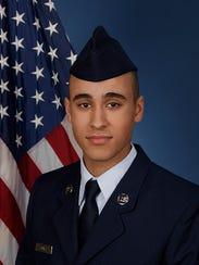 U.S. Air Force Airman Isaiah L. Jones.
