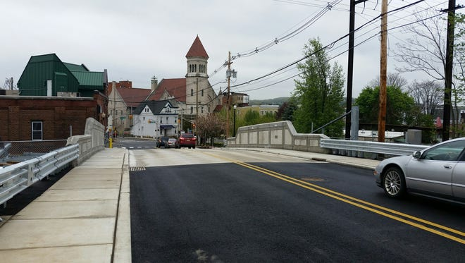 Prospect Street Bridge in Dover was reopened May 4, 2016 after being closed for rehabilitation for nearly 18 months.