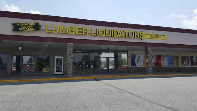 Lumber Liquidators opened a new store in the University Plaza shopping center on July 1.