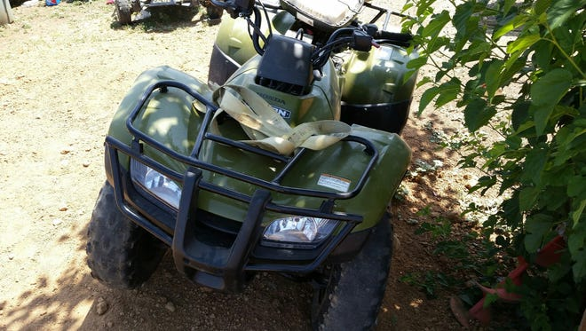 A two-month investigation prompted by a stolen tractor and mower led Tulare County Sheriff's Department to a Terra Bella man.