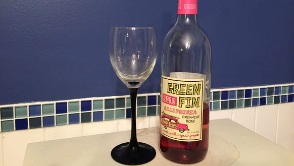 A celebration for 30! Green Fin organic wine from Trader