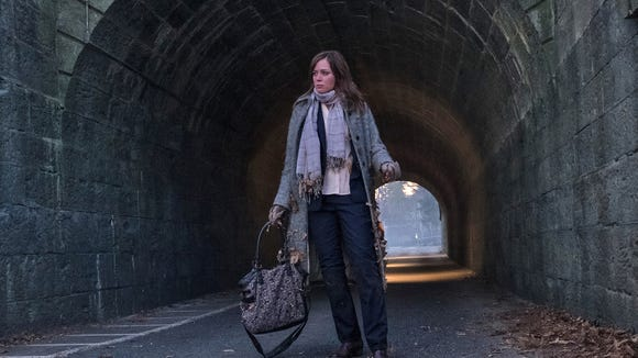 Emily Blunt in 'The Girl on the Train.'