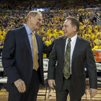 UM's Beilein: Playing MSU twice 'the right thing to do'