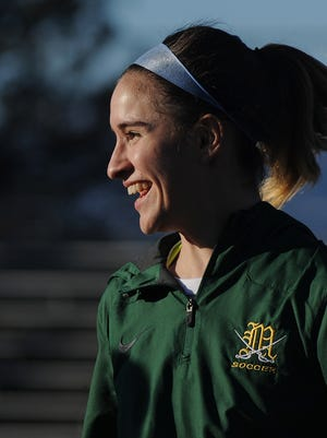 Senior striker Jordyn Geller's golden goal lifted the Moorpark High girls soccer team into the CIF Southern California Division II regional final on Thursday.