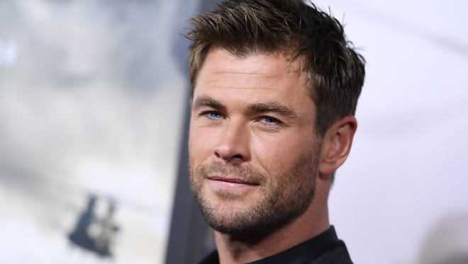 Actor Chris Hemsworth will wave the green flag to start the 102nd running of the Indianapolis 500.
