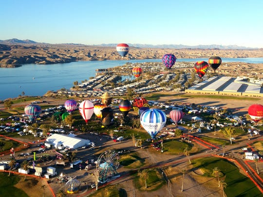 The Havasu Balloon Festival & Fair takes place Jan.