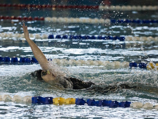 King's Elle Boyd is seeded second in the girls 100 backstroke and third in the girls 100 freestyle at the UIL State Swimming and Diving Championships this week in Austin.