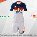FC Cincinnati, Mercy Health partner for potential MLS jersey sponsorship