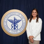 UCF alumna Tiffany Strong was recently awarded the Alumni Heritage Scholarship from American University of the Caribbean School of Medicine.