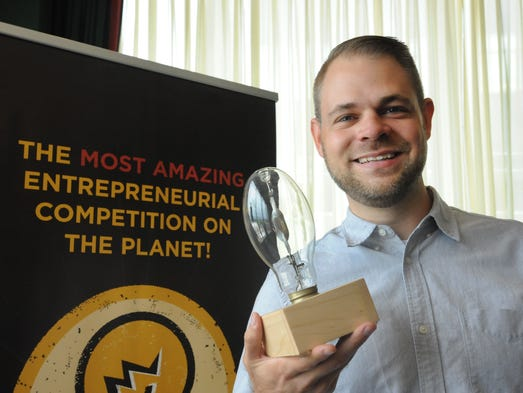 Ray Abel of Bansen Labs wins the 2016 Louisiana Startup