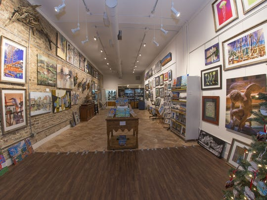 CCP Gallery/Studio, recently opened at 126 Palafox