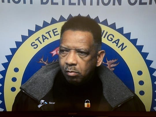 Detroit Police officer Lonnie Wade is arraigned by