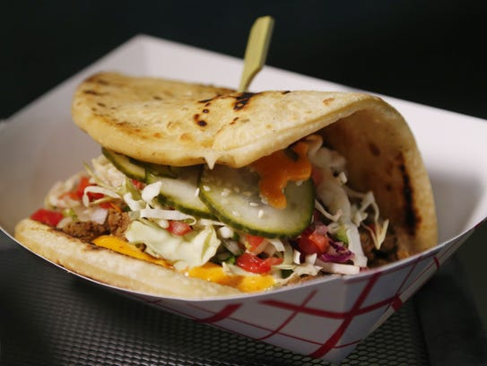 Ginger Carne Asada Beef BACO offered Club Level at