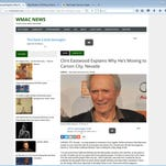"""A satirical news site that goes by several names, including WMAC News, has gone viral for its posts alleging various celebrities are moving to various small towns. Snopes.com has verified the stories as false, and the websites describe themselves as """"pure fantasy."""""""