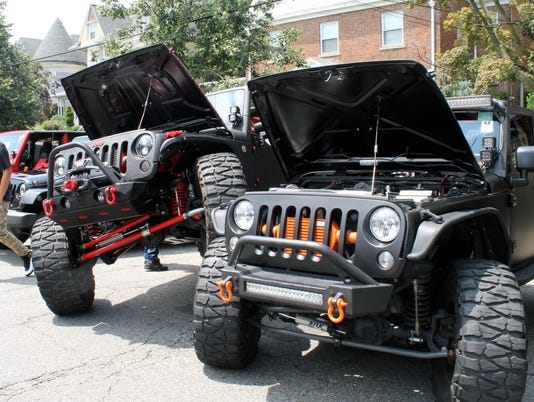 Xtreme Jeep Showon July 14 PHOTO CAPTION