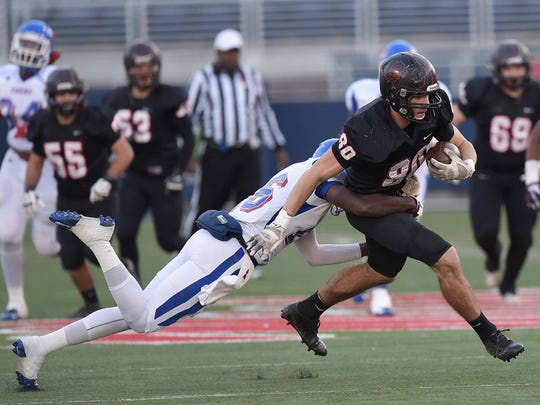 St. Stanislaus receiver Chase Rogers