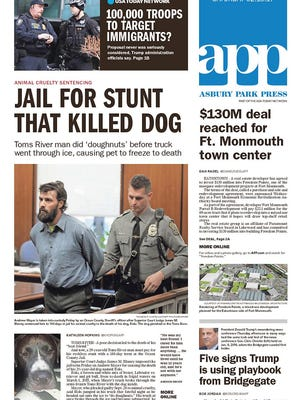 Asbury Park Press, Saturday, Feb. 18, 2017