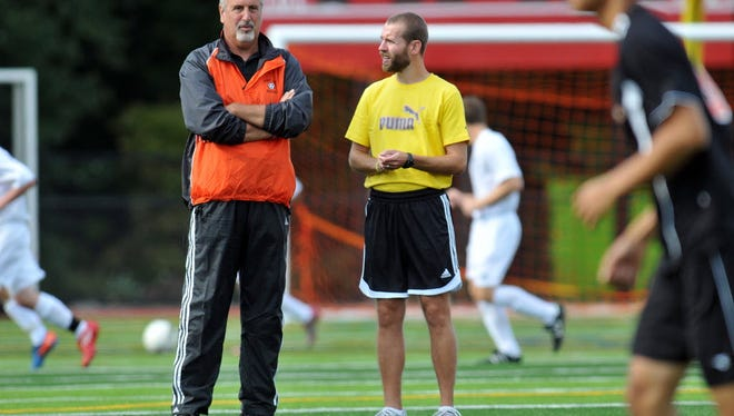 Coach Bob Ciccone (left) and Fort Lee are coming off an 18-3 season.