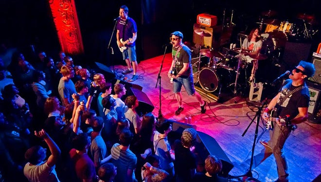 The Moguls a band out of Madison will be playing at Dangerfest this Saturday.