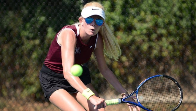 Leonia junior Bianka Lieber finished the season with 16 wins in 21 matches.