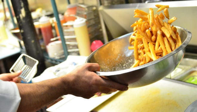 Sometimes it is hard to lay off the fried foods, especially some crispy French fries.