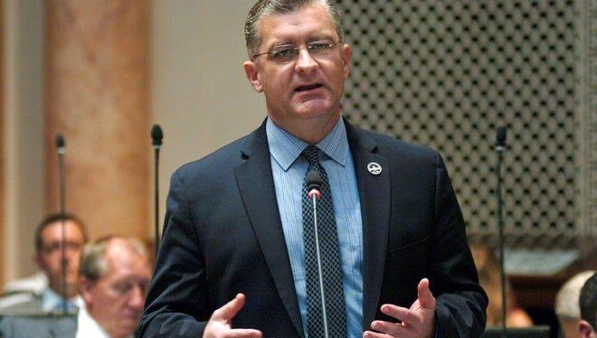 State Sen. Robby Mills, R-Henderson