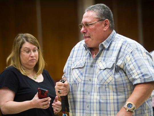 Michael Eldridge, a victim in the Lee Cromwell case,