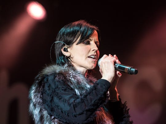 Irish singer and lead singer of The Cranberries Dolores