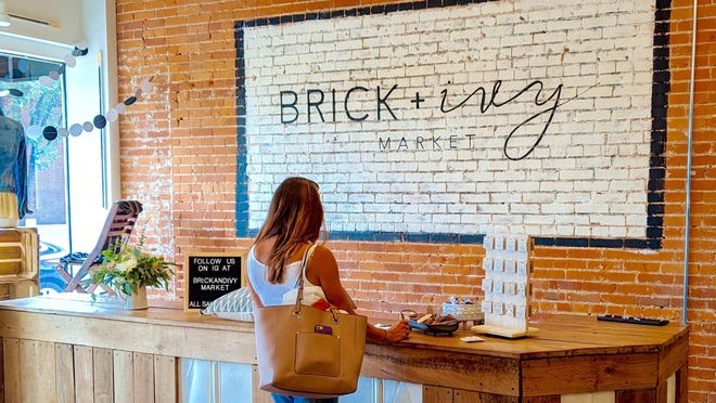 Brick and Ivy Market, located at 182 S. River Ave., opened to the public on Saturday, August 1.