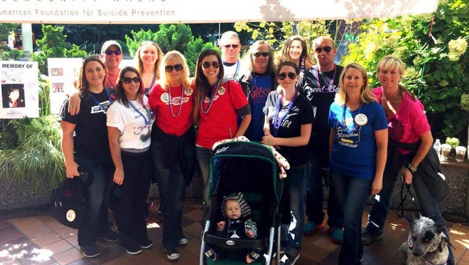 Step out for a cause at the inaugural Salem/Keizer Out of the Darkness Community Walk Saturday, Oct. 8, at Riverfront Park, 200 Water St. NE.
