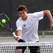 Nicolet tennis rolls through North Shore tournament to win conference title