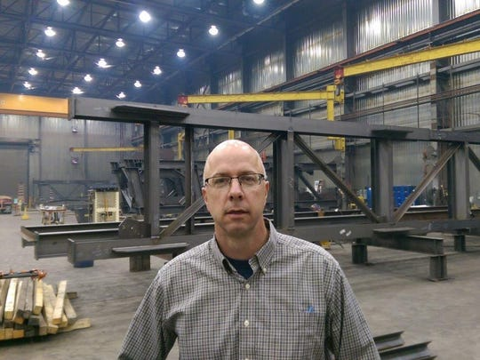 "Dan Rooney, general manager of ADF International, says its new Great Falls plant is ""a flexible manufacturing facility"" that found other commercial and industrial projects after oil prices plummeted."