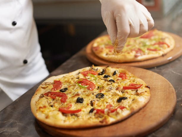 Something for everyone! Buy a large one topping pizza and receive one of equal or lesser value FREE.