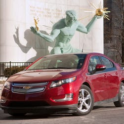 The Chevrolet Volt plug-in extended-range electric vehicle is about to be replaced