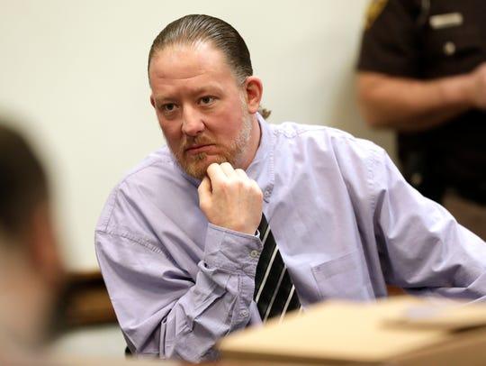 George Burch, who is accused of murdering Nicole VanderHeyden