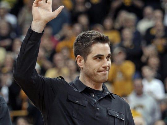 Former Iowa basketball star Jeff Horner