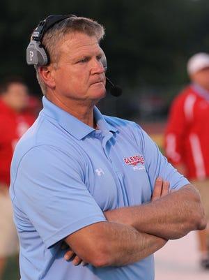 Glendale football coach Mike Mauk