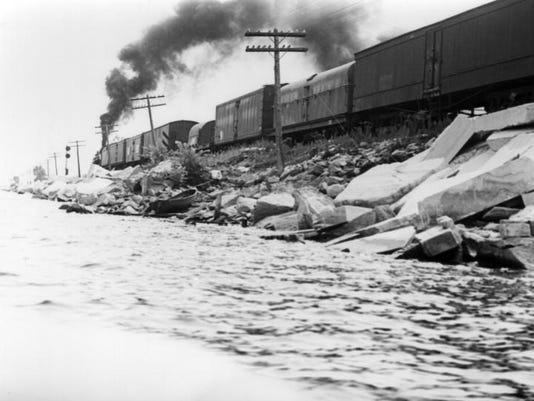 1949 Train on Causeway
