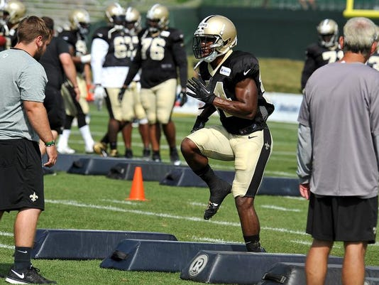 Saints Camp Football